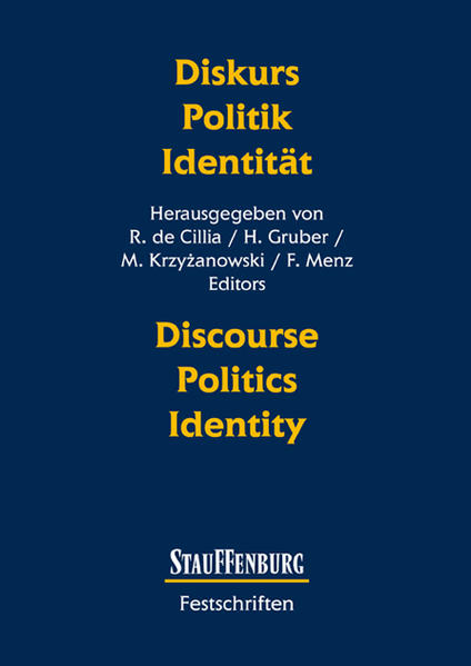 Diskurs - Politik - Identität Discourse - Polit...