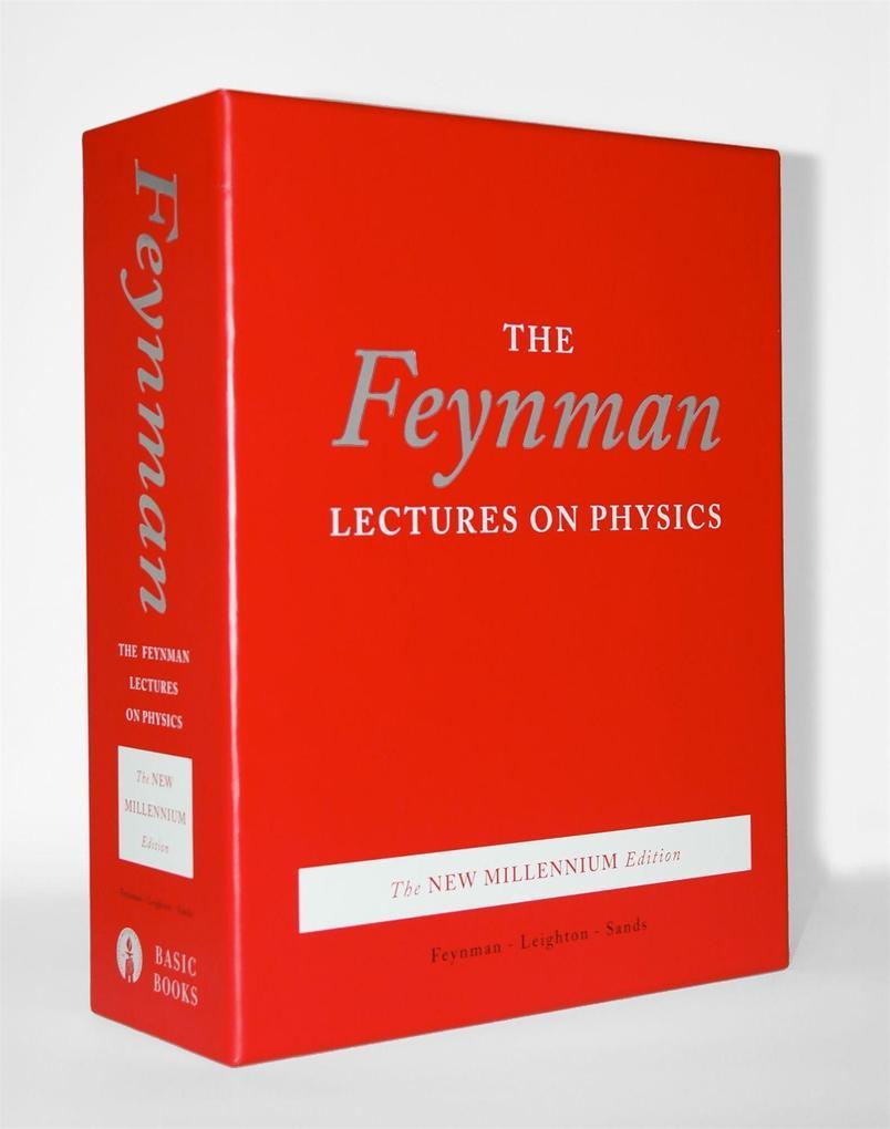 Feynman Lectures on Physics. The New Millennium Edition als Buch (gebunden)
