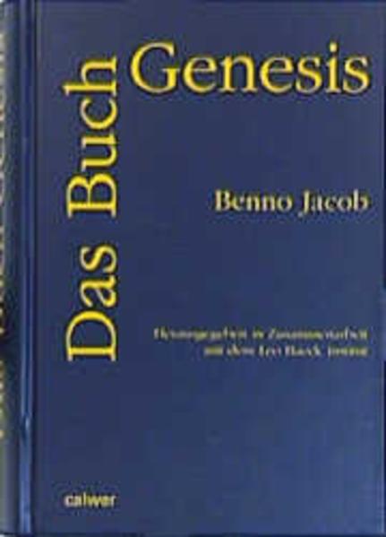 Das Buch Genesis als Buch