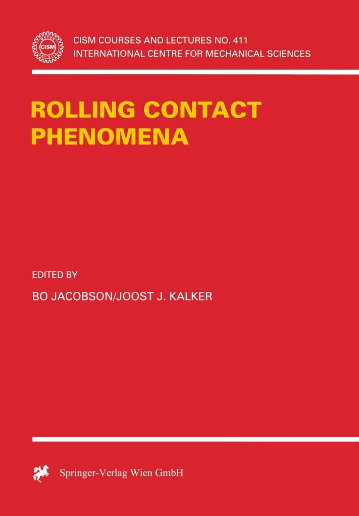 Rolling Contact Phenomena als Buch