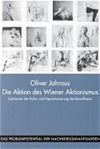 Die Aktion des Wiener Aktionismus als Buch