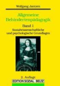 Allgemeine Behinderten Pädagogik als Buch