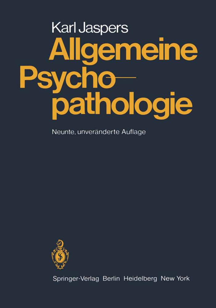 Allgemeine Psychopathologie als Buch