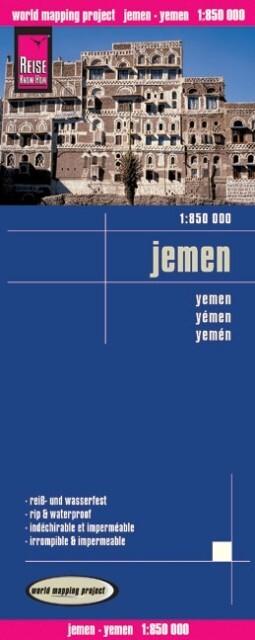 Jemen 1 : 850 000 als Buch