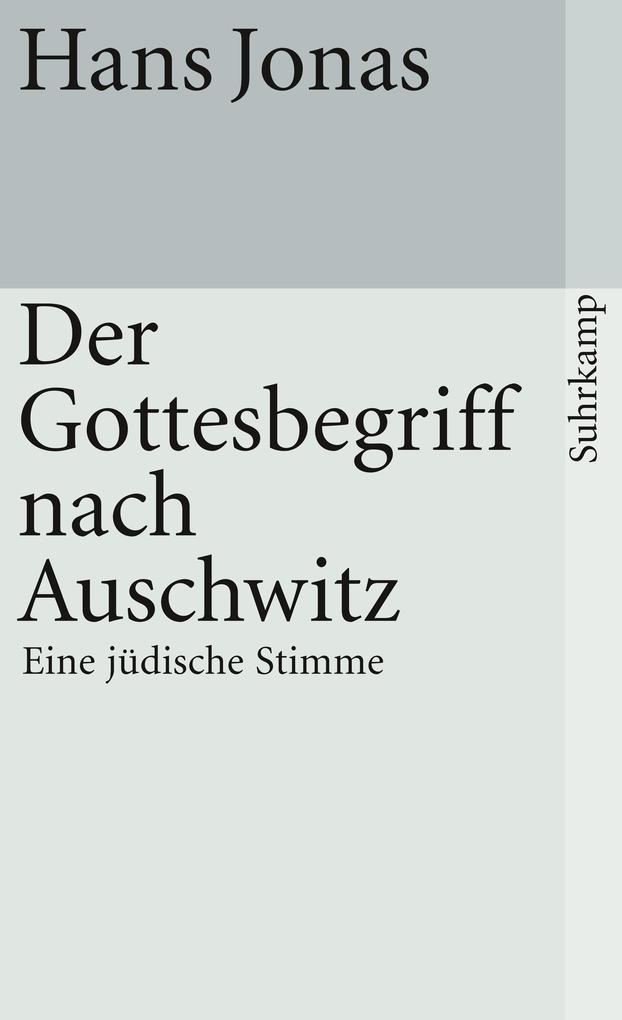 Der Gottesbegriff nach Auschwitz als Taschenbuch