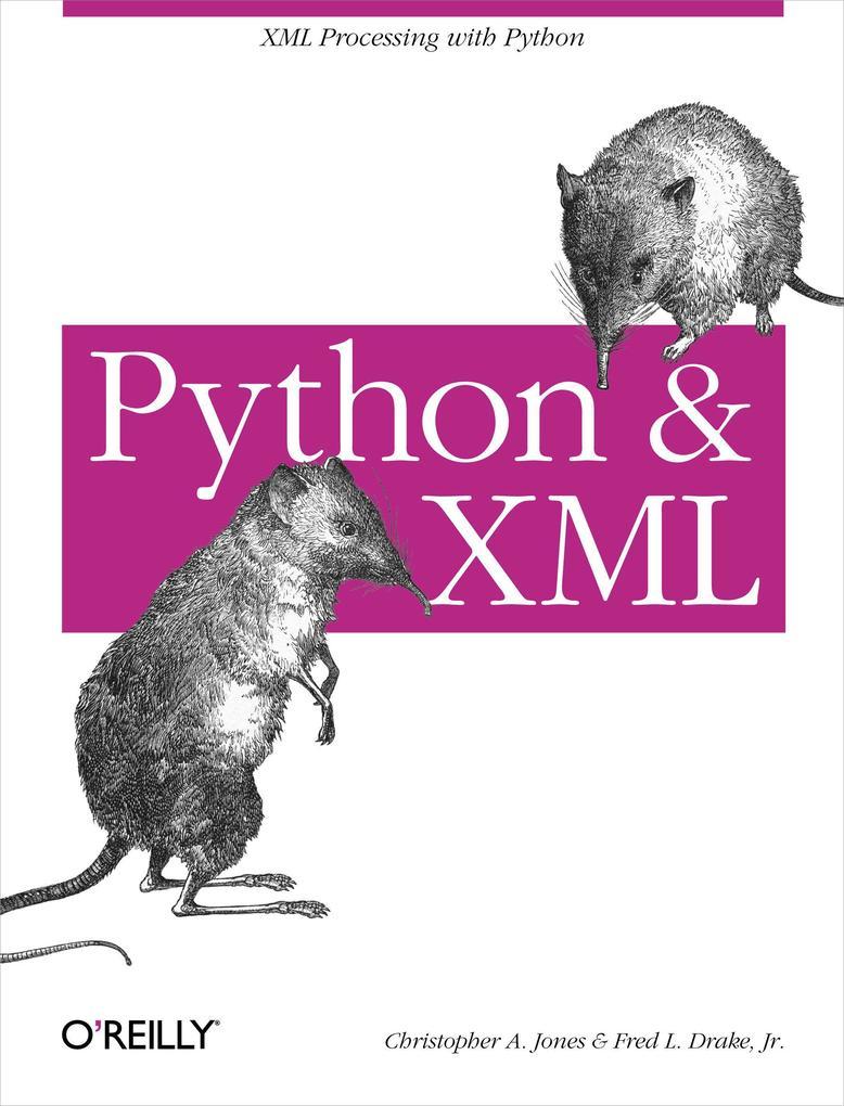 Python & XML als Buch