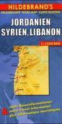 Jordanien, Syrien, Libanon 1 : 1 250 000. Hildebrand's Urlaubskarte