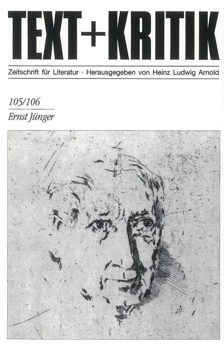 Ernst Jünger als Buch