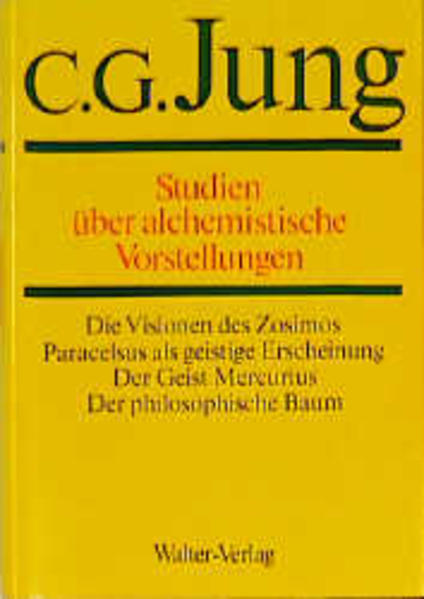 Gesammelte Werke 13. Studien über alchemistische Vorstellungen als Buch (gebunden)