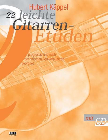 22 leichte Gitarren-Etüden. Inkl CD als Buch