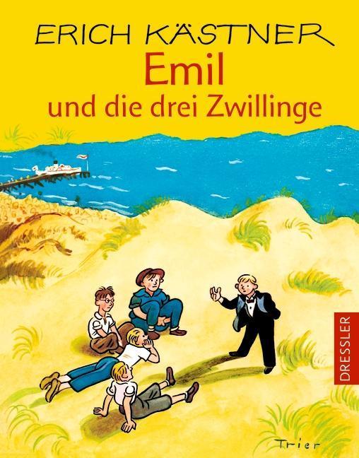 Emil und die drei Zwillinge als Buch