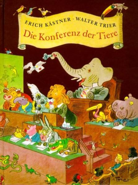 Die Konferenz der Tiere, bibliophile Ausgabe als Buch