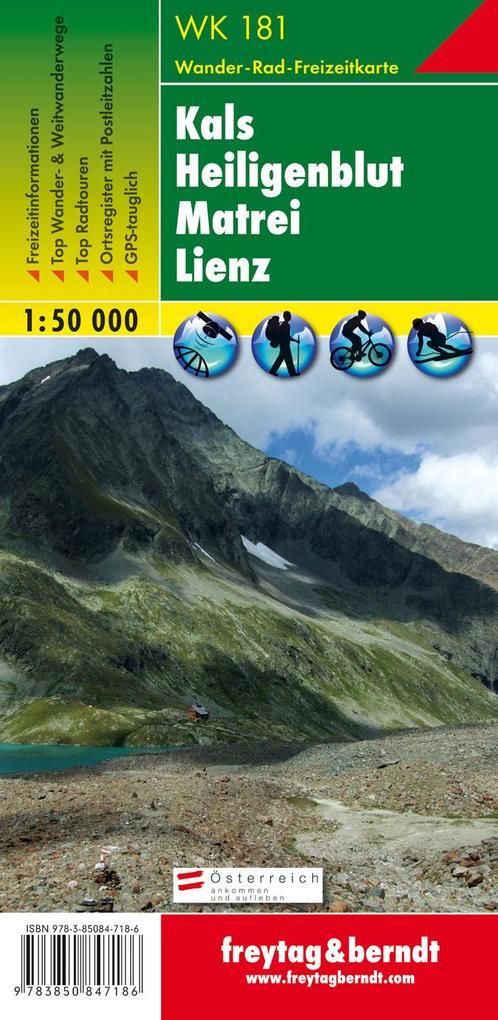 Kals - Heiligenblut - Matrei - Lienz 1 : 50 000 als Blätter und Karten