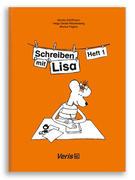 Lisa Lesemaus. Schreiben mit LIsa Heft 1. Lese- und Schreibmaterial. Druckschrift