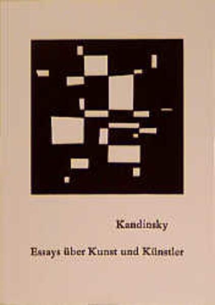 Essays über Kunst und Künstler als Buch