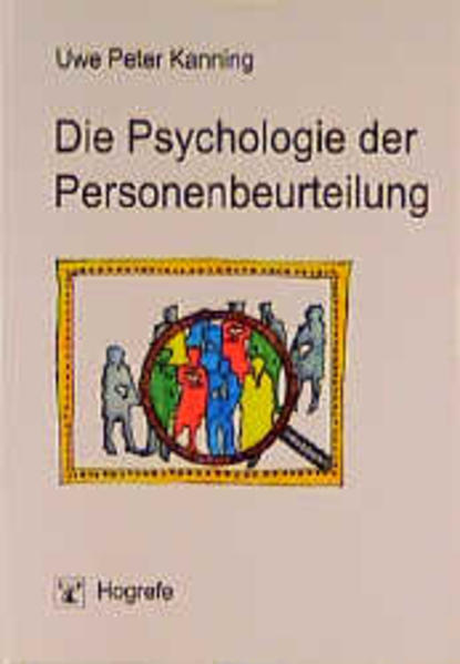 Die Psychologie der Personenbeurteilung als Buch (kartoniert)