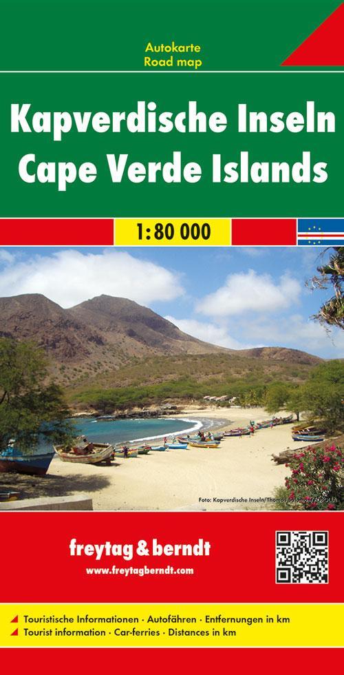 Kapverdische Inseln 1 : 80 000 als Buch
