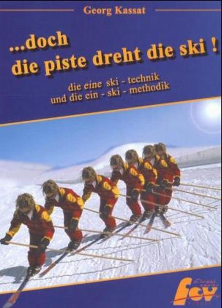 ...doch die Piste dreht die Ski als Buch