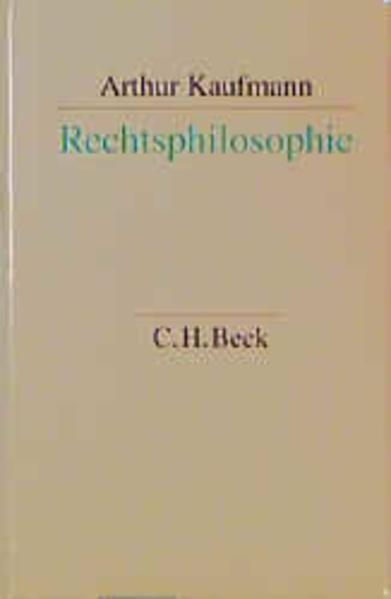 Rechtsphilosophie als Buch (gebunden)