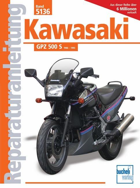 Kawasaki GPZ 500 S ab Baujahr 1986 als Buch (kartoniert)