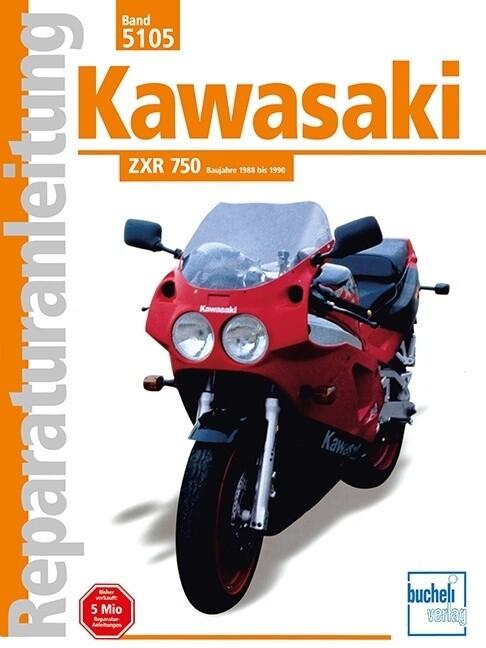 Kawasaki ZRX 750 ab Baujahr 1988 als Buch