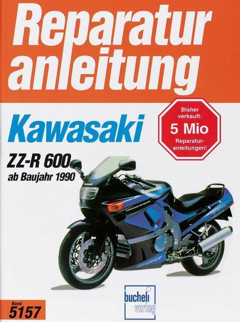 Kawasaki ZZ-R 600 ab Baujahr 1990 als Buch (kartoniert)