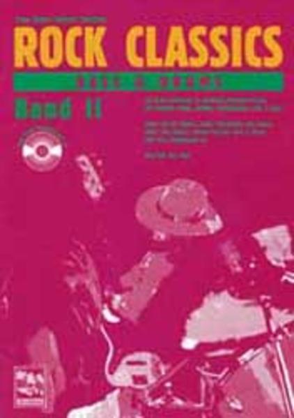 ROCK CLASSICS ' Bass und Drums' 2. Inkl. CD als Buch