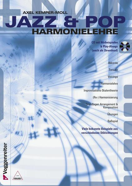 Jazz und Pop Harmonielehre. Inkl. CD als Buch