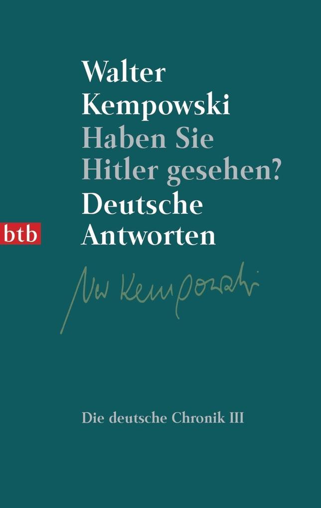 Haben Sie Hitler gesehen? als Taschenbuch