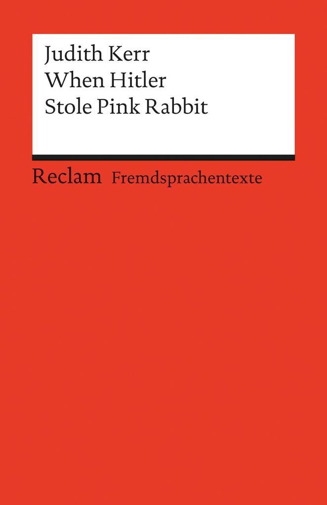 When Hitler Stole Pink Rabbit als Taschenbuch