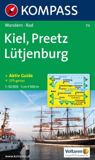 Kiel, Preetz, Lütjenburg 1 : 50 000 als Buch