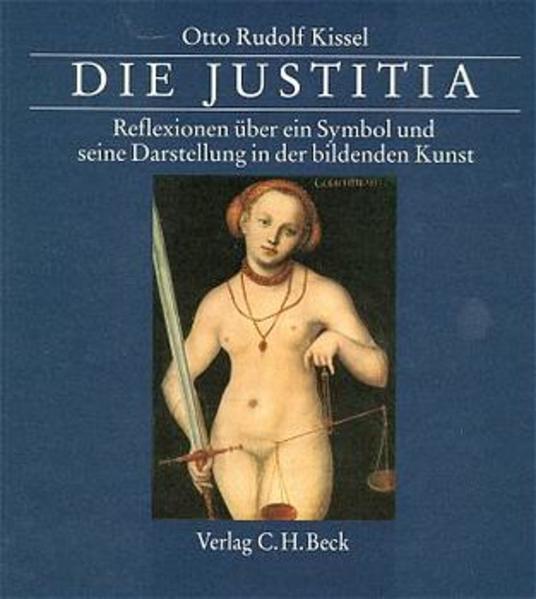 Die Justitia als Buch