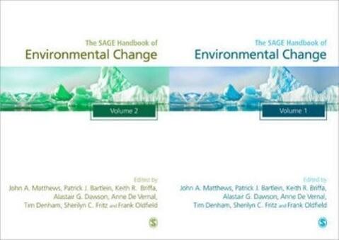 The Sage Handbook of Environmental Change als Buch (gebunden)