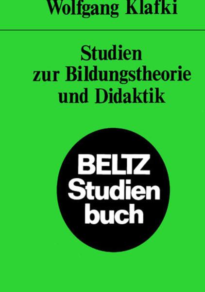 Studien zur Bildungstheorie als Buch (kartoniert)