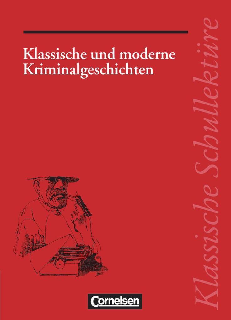 Klassische und moderne Kriminalgeschichten als Buch