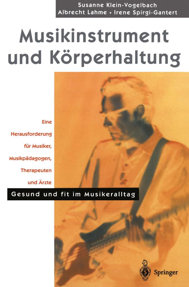 Musikinstrument und Körperhaltung als Buch