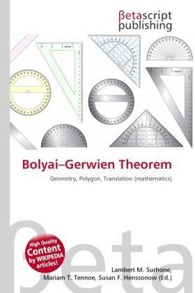 Bolyai-Gerwien Theorem als Buch von