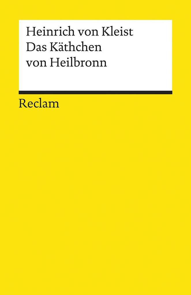 Das Käthchen von Heilbronn als Taschenbuch