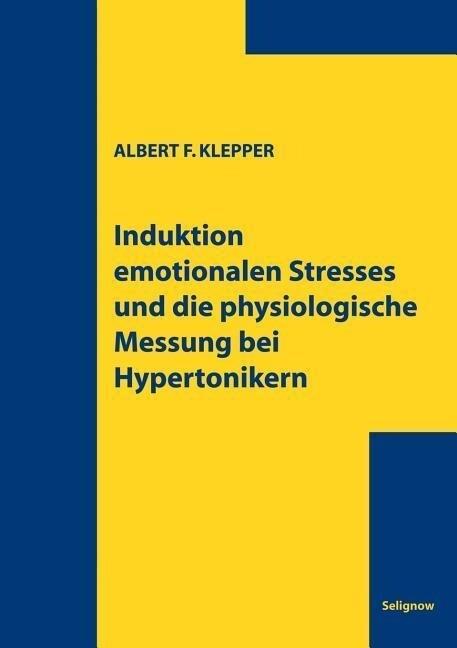 Induktion emotionalen Stresses als Buch