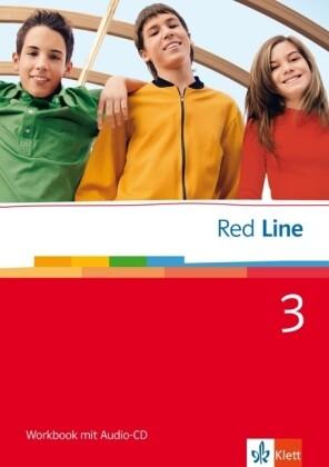 Red Line 3. Workbook mit Audio-CD als Buch