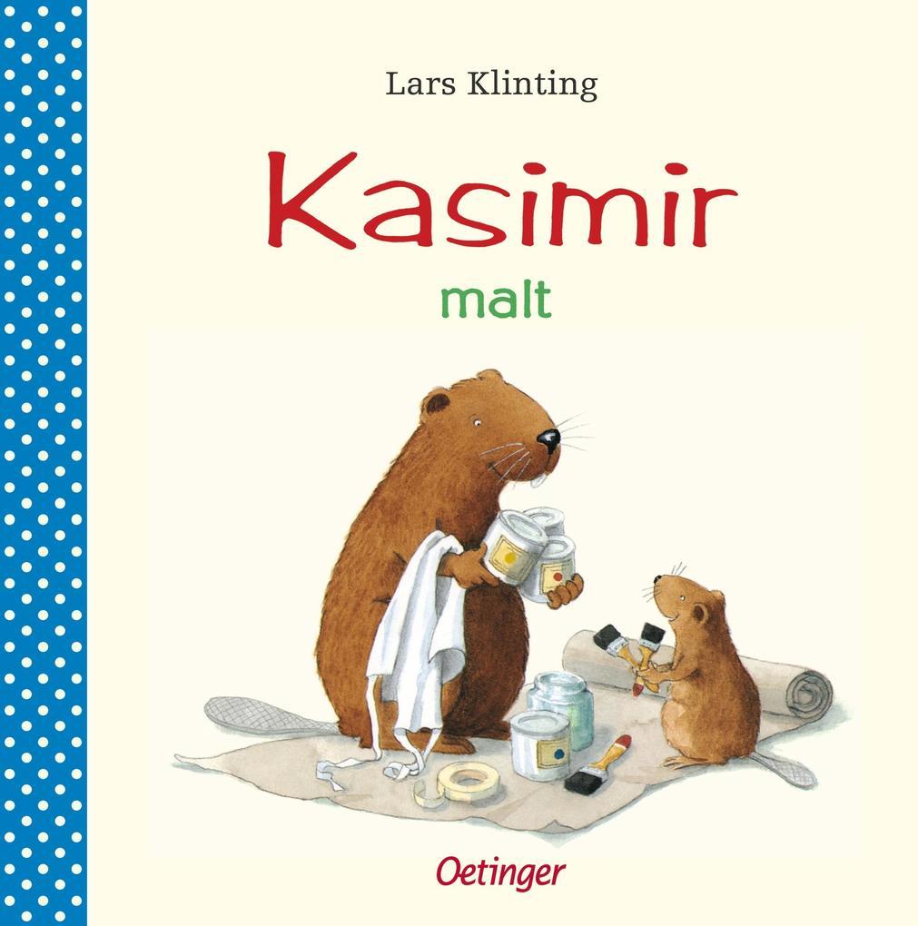 Kasimir malt als Buch