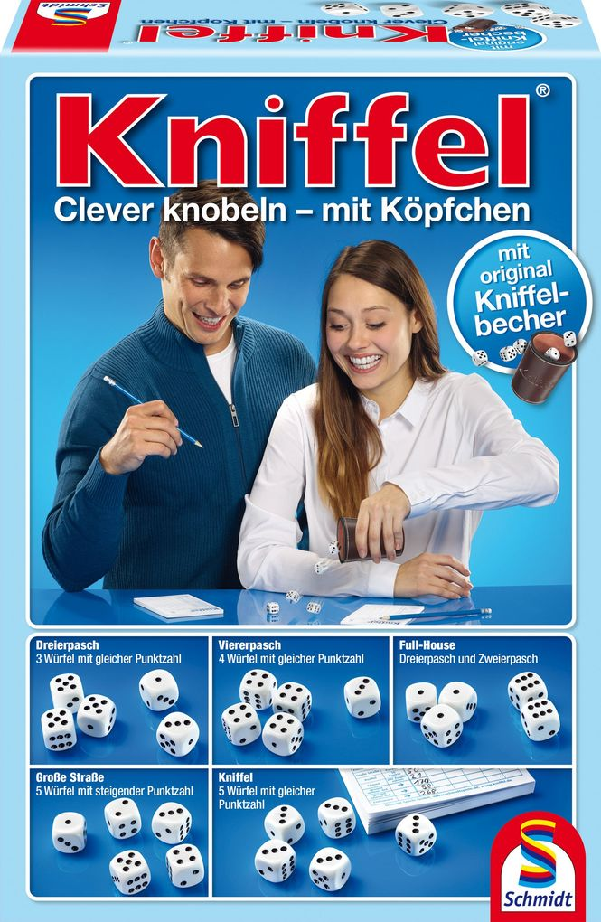 Kniffel als Spielware