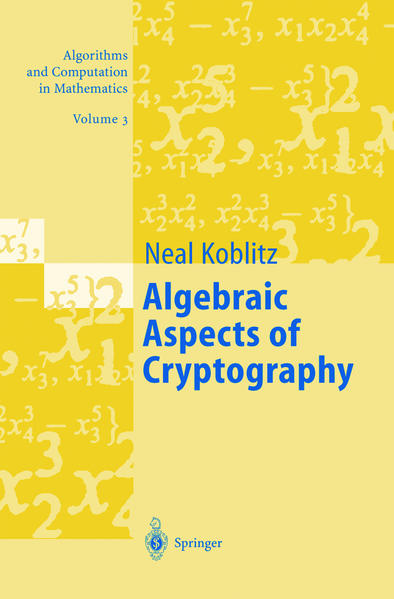 Algebraic Aspects of Cryptography als Buch