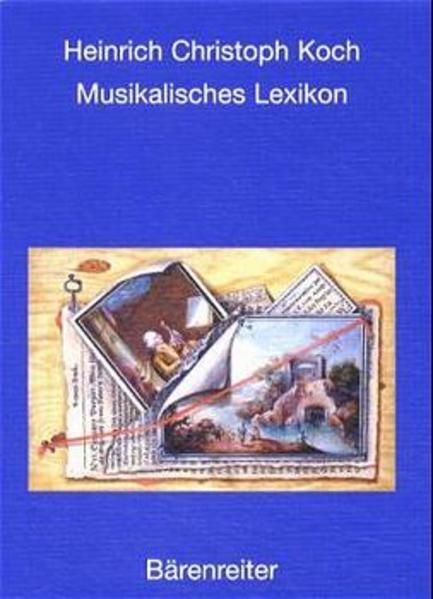 Musikalisches Lexikon als Buch