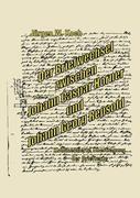 Der Briefwechsel zwischen J. C. Horner und J. G. R