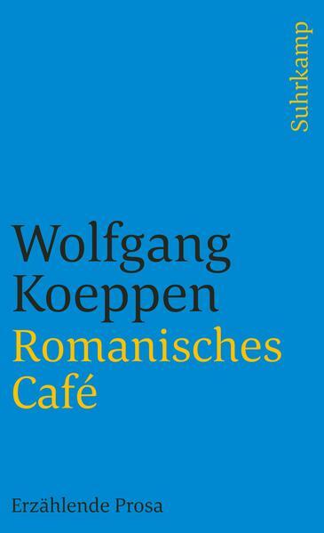 Romanisches Café als Taschenbuch