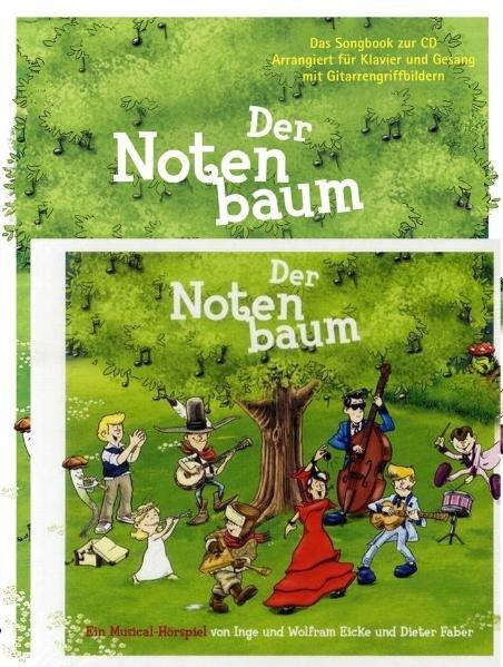 Der Notenbaum - Set Songbook/CD als Buch von