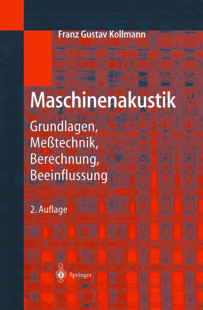 Maschinenakustik als Buch