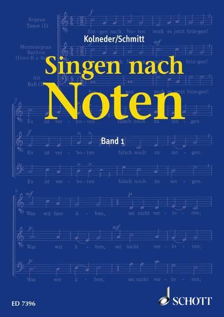 Singen nach Noten als Buch