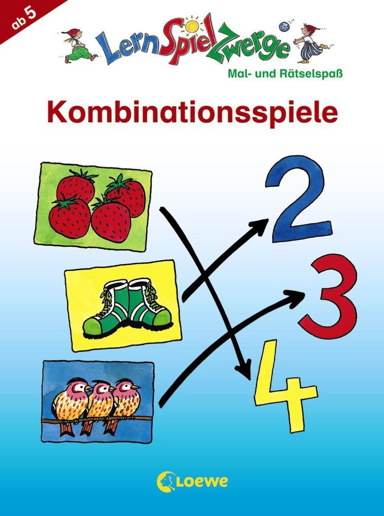 Kombinationsspiele. Mal- und Rätselblock als Buch
